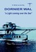 "Dornier Wal, ""a light coming over the sea"""