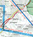 VFR aeronautical chart Italy North 2019  ROGERS-ITALY-N image 8