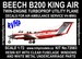 Beech B200 King Air (Air Ambulance VH-MWU) Reissue