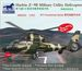Harbin Z9B Military Utility Helicopter (AS365 Dauphin) (3 kits included)