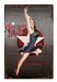 American Doll Metal Sign - pinup