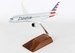 Boeing 787-8 American W/Wood Stand