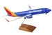 Boeing B737-800 Southwest W/Gear & Wood Stand