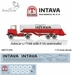 Autocar U-7144 with F1a Semi- trailer refueler (Intava - Shannon) for Airfix kit