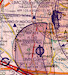 VFR aeronautical chart Italy North 2020  ROGERS-ITALY-N image 2