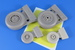 LATE Non Weighted Wheels for F4E/F/G, RF4C/E Phantom (Revell)