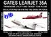 Learjet 35A (Swiss red Cross & Swiss AF) - Reissue!