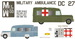 Military Ambulance Daimler DC27