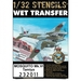 Wet Transfer stencils and markings for Mosquito Mk.VI (Tamiya)