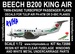 Beech B200 King Air (PH-ATM Tulip Air) Reissue