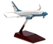 Boeing B737-700 C40C US Air Force 50932 Assembled with wooden stand